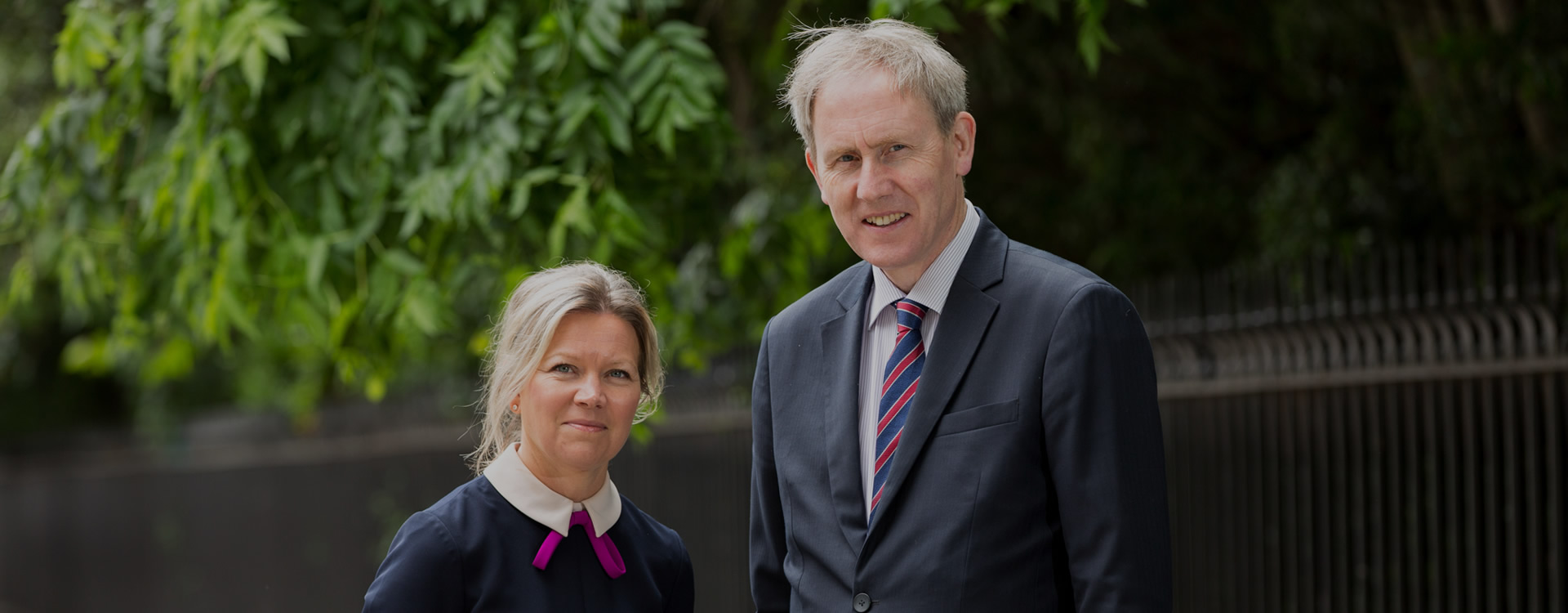 Picture of Thomas Barry & Natasha Dunne from Thomas Barry & Company Solicitors, Dublin